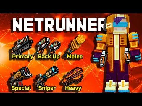 Netrunner Set - Pixel Gun 3D