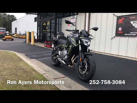 2019 Kawasaki Z650 in Greenville, North Carolina - Video 1