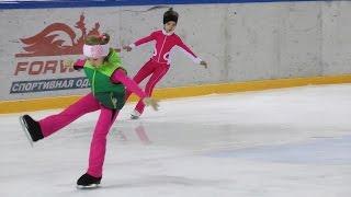 Открытый урок фигурного катания (2) детей 2009 г.р.