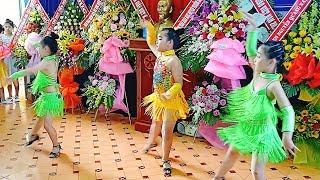 Nhạc thiếu nhi Remix - Nhảy Dancesport - Bông Hồng Tặng Cô