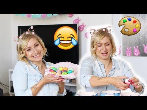 Zkouším divné metody barvení vajíček z Pinterestu | Velikonoce s Flabgee