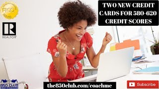 2 New Credit Cards For 580 - 640 FICO/CK Scores In 2020 & No Hard Pull - MyFICO,Monitoring Services