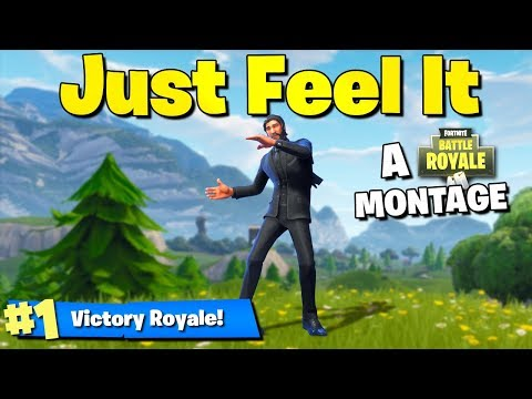 Just Feel It - A Professional Fortnite: Battle Royale Montage!!