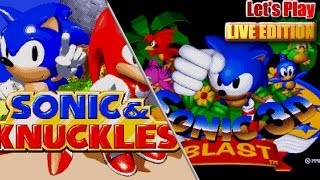 Let's Play Sonic 3 & Knuckles and Sonic 3D with GIVEAWAY - (Live Stream 6th May '17 8pm BST)