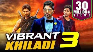 Vibrant Khiladi 3 2019 Telugu Hindi Dubbed Full Movie | Allu Arjun, Anushka Shetty, Manoj Manchu