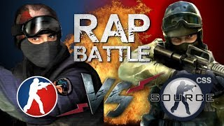 Рэп Баттл - Counter-Strike 1.6  vs. Counter-Strike: Source