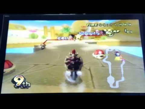 【故・おぼちる杯】 マリオカートWiiプレイ動画 第4GP