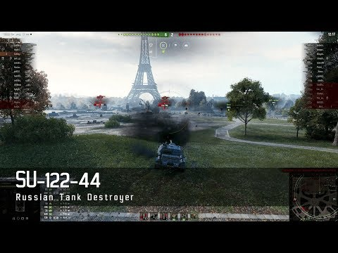 World of Tanks – Russian Tech Tree - Tank destroyer – SU 122 44 – Paris