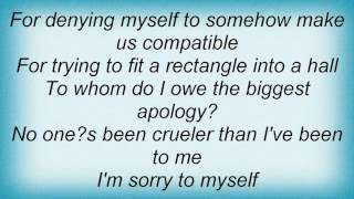 Alanis Morissette - Sorry 2 Myself Lyrics