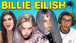 TEENS REACT TO BILLIE EILISH - Video Youtube