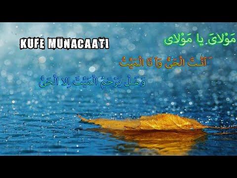 İmam Ali'nin (a.s) Kufe Münacaatı Mevla Ya Mevla...