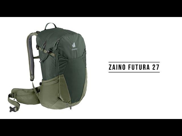 Видео Рюкзак Deuter Futura 27 (ivy-khaki)