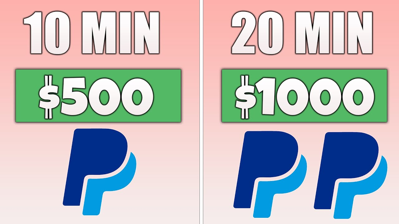 Free App Pays You $1,000 in PayPal Money (Make Money Online) thumbnail