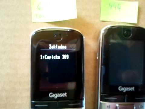 Gigaset SL400H FW 80.045.02 & Alcatel OXE i605-21
