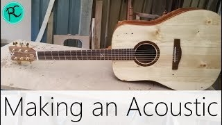 Making an Acoustic Guitar Super Fast