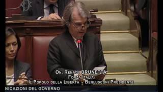 Renato Brunetta - Dichiarazione di voto fiducia governo Gentiloni 13-12-2016