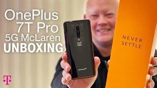 NEW OnePlus 7T Pro 5G McLaren Phone Unboxing | T-Mobile