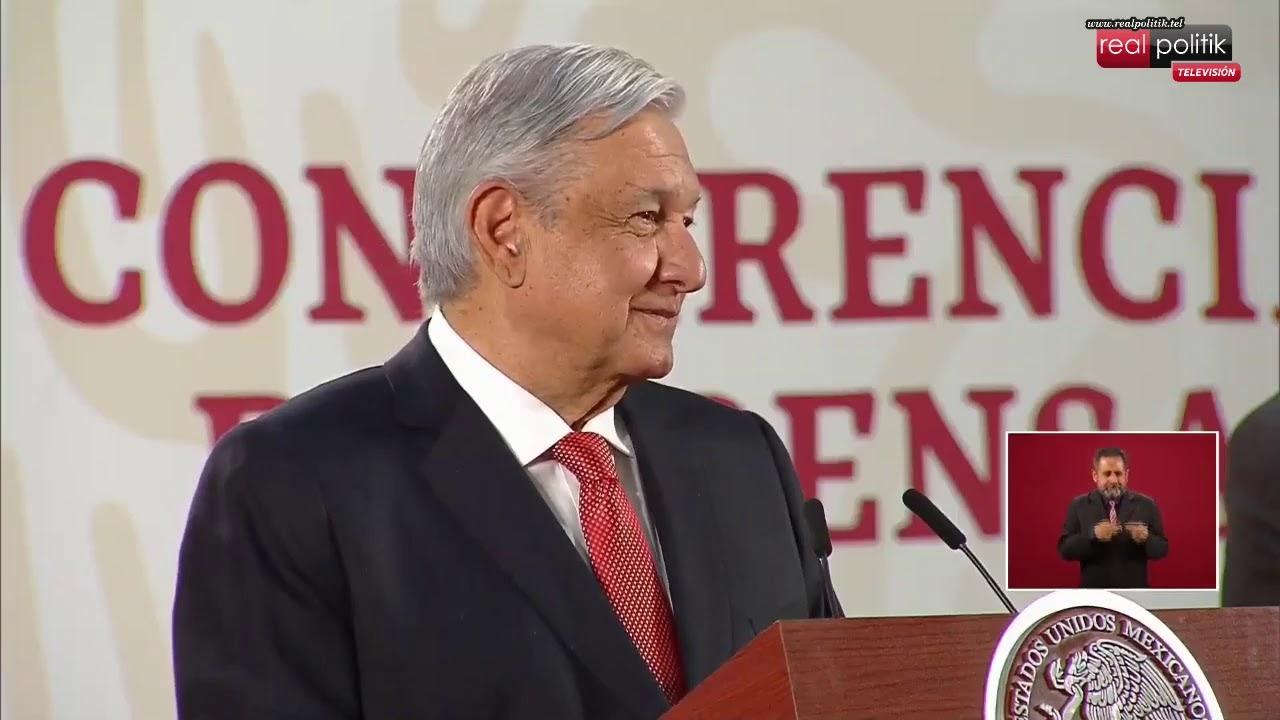 México: Conferencia de prensa de Andrés Manuel López Obrador