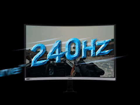240Hz Curved Gaming Monitor C27RG5: Introduction Video | Samsung
