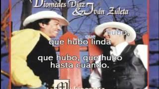 KARAOKE - Diomedes Diaz - Que Hubo Linda - KARAOKE
