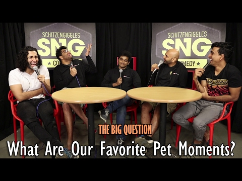 SnG: What Are Our Fav Pet Moments Ft Khamba and Naveen | The Big Question Ep 43 | Video Podcast