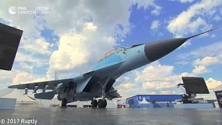 На авиасалоне МАКС-2017 презентовали истребитель поколения 4++ МиГ-35