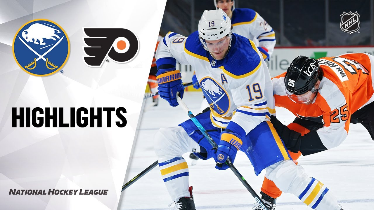 Sabres vs Flyers | Tuesday, January 19, 2021