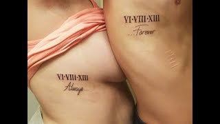 25 Matching Couple Tattoos Ideas 2018