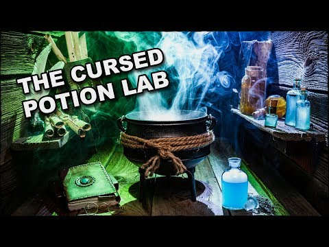 The Cursed Potion Lab - Halloween 2017