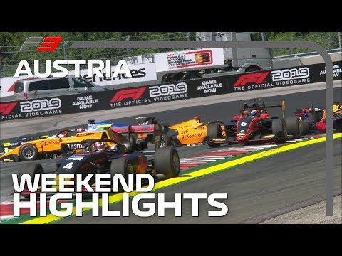 Formula 3 Round 3 Highlights | 2019 Austrian Grand Prix