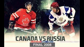 Чемпионат Мира 2008 FINAL [ Russia - Canada ] Overtime - HD