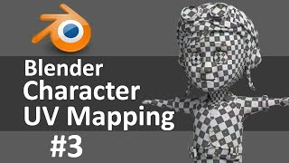 Blender Character UV Mapping 3 of 3