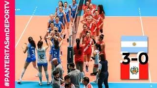 Argentina 3-0 Perú - Resumen - Mundial Sub 20 De Vóley Femenino - México 2019 - #PANTERITASenDEPORTV