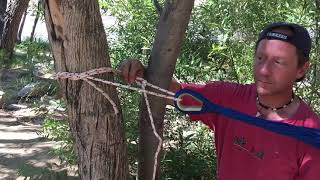 BeanBagglz Camping Tip  - Tie a Hammock to a Tree