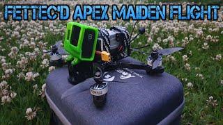 ImpulseRC Apex Fettec stack Maiden Flight | Kiss FPV Drone