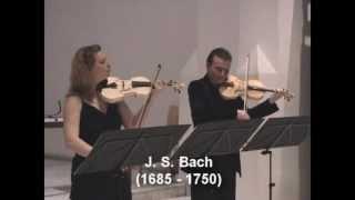 Johann Sebastian Bach (1685-1750). Sonate No.3 in C-Dur BWV 1005. Fuga.mp4