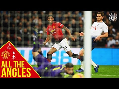 All the Angles | Marcus Rashford v Tottenham Hotspur | Manchester United | Premier League