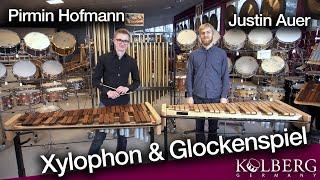 Xylophon & Glockenspiel mit Pirmin Hofmann und Justin Auer von der MuHo Trossingen