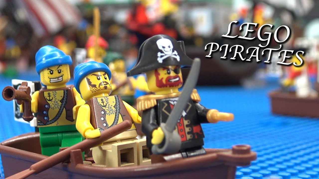 Huge LEGO Pirates Invasion of Imperial Port