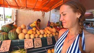Цены в Крыму! ГРУШИ С ЧЕРНОБЫЛЯ! Цены на Рынке! Цены на Продукты и Цены на Еду в Крыму 2018