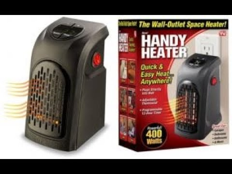 Mini Electric Portable Handy Air Room Fan Heater - Handy Heater