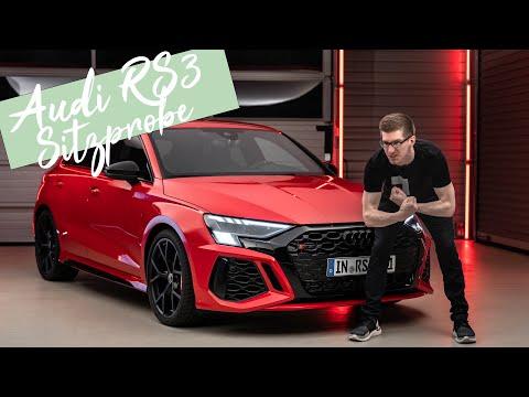Der neue Audi RS3: Sitzprobe, Bremsen-Upgrade, Technik-Details und Preise [4K] - Autophorie