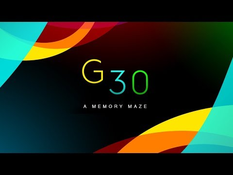 Vídeo do G30 - A Memory Maze