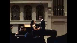 Justine Moral's Recital - Why Have You Brought Me Here? / All I Ask of You