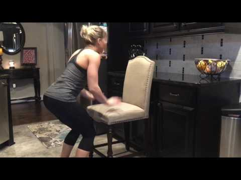 Modified Chair Burpees