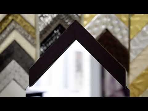 Зеркало в пластиковой раме «Стакки» z-12064