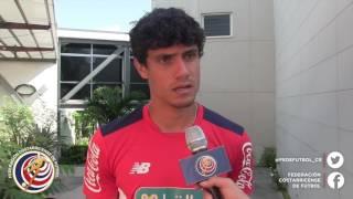 El jugador de LaSele Yeltsin Tejeda Valverde comenta los trabajos que ha