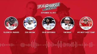 SPEAK FOR YOURSELF Audio Podcast (9.18.17) with Colin Cowherd, Jason Whitlock | SPEAK FOR YOURSELF