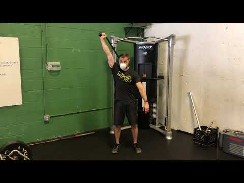 Cable Single Arm Overhead Triceps Extension