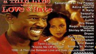 Tevin Campbell - Knocks Me Off My Feet
